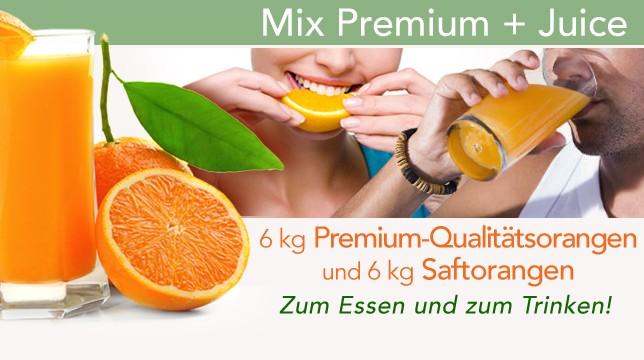 Naranjas + zumo